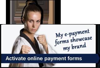 taekwondo school tuition billing ma-e-payment